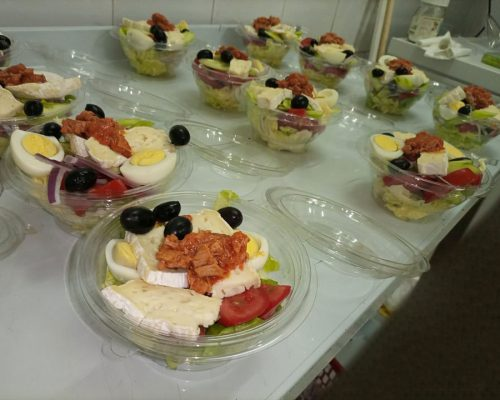 salade du chef au fromage